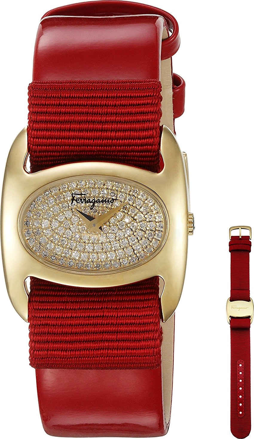 Salvatore Ferragamo FIE070015 Varina Diamonds Watch 26mm