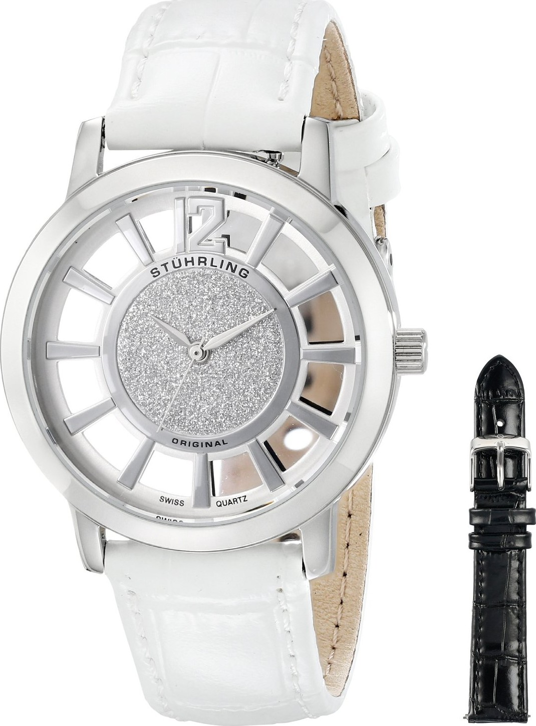 Stuhrling Original Women's 388L.SET.01 Edinburgh Watch 36mm