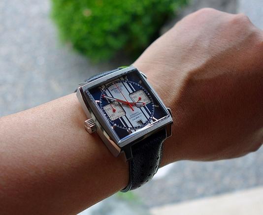 TAG Heuer là Monaco - 45 năm trở lại của đồng hồ mặt vuông  Thụy Sỹ