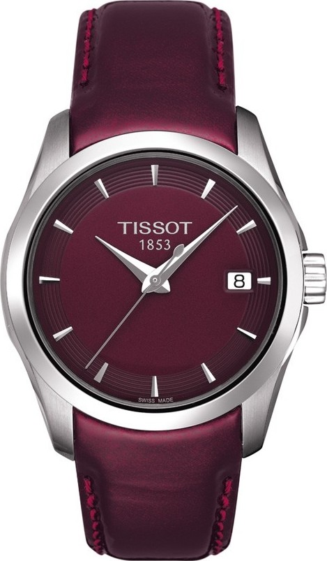 TISSOT T035.210.16.371.00 Couturier Watch 32mm