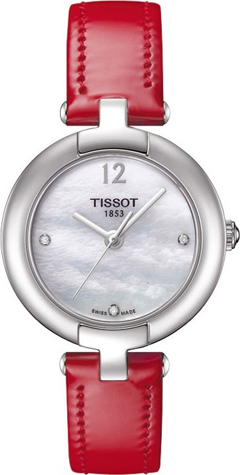 Tissot Women's Quartz White MOP Dial Watch 28mm