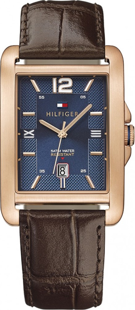Tommy Hilfiger Men's Casual Brown Watch 32mm
