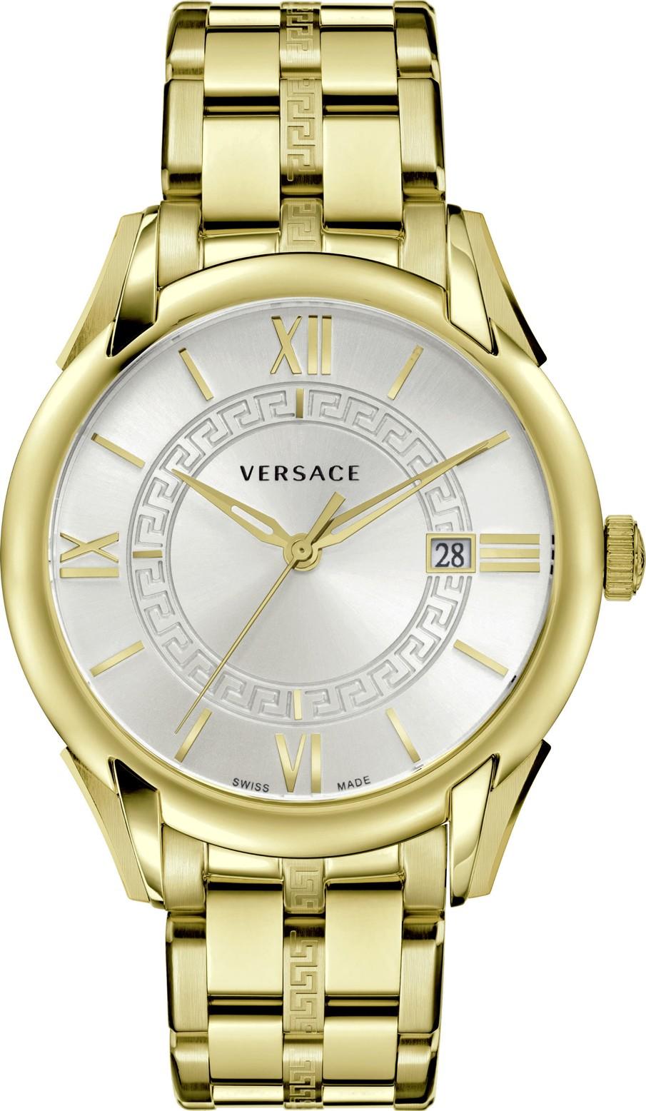 Versace Men's 'APOLLO' Swiss Quartz  Watch 42 mm