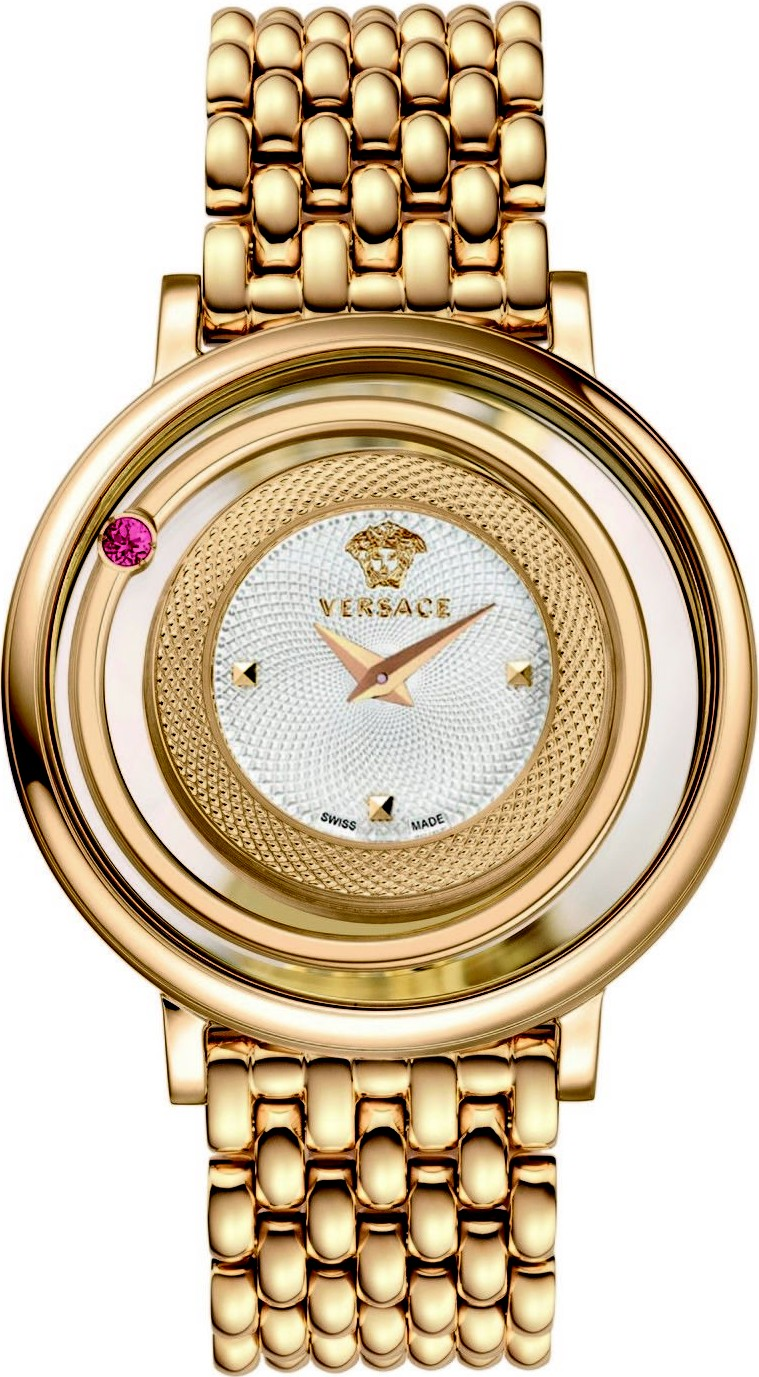 Versace Venus Gold-Tone Women's Watch 39mm