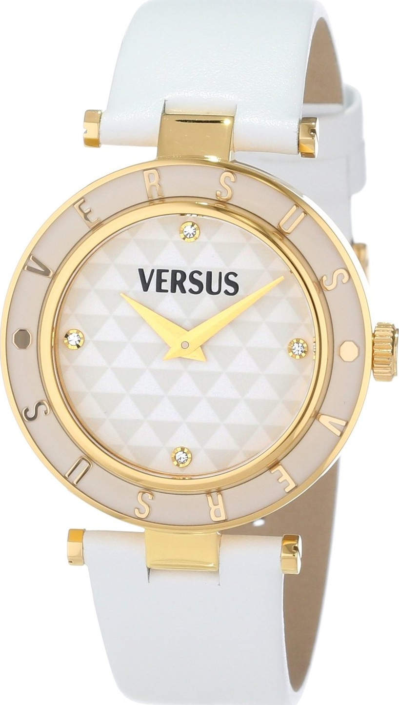 versus by versace sp8030013 logo white gold 34mm