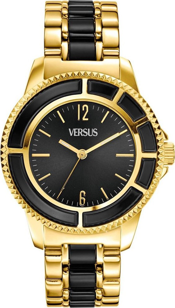 Versus by Versace Unisex Gold Stainless 38mm