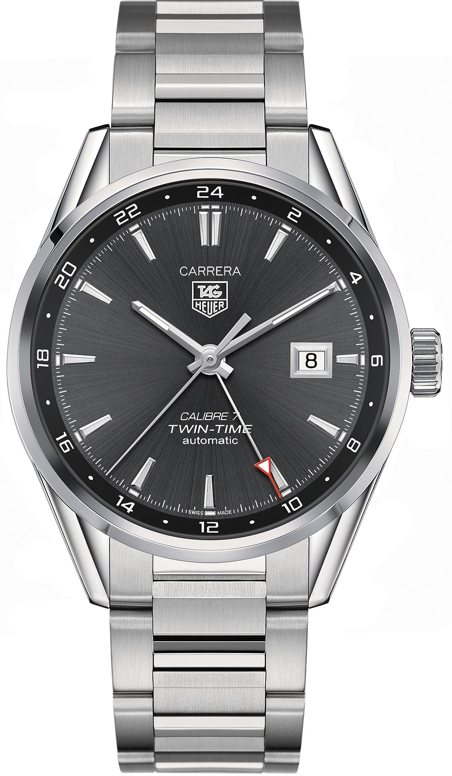 TAG HEUER Carrera WAR2012.BA0723 Twin Calibre 7 41mm
