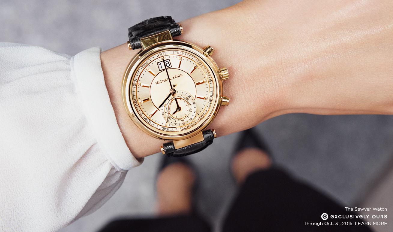 Đồng hồ Michael Kors tại Luxury shopping