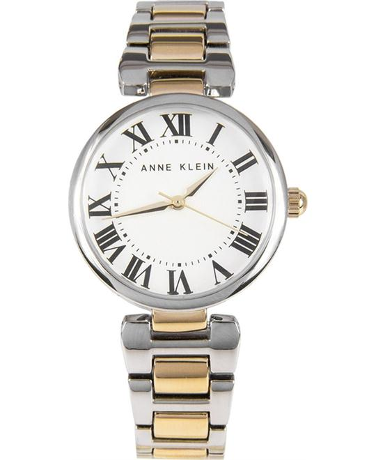 Anne-Klein Damskie Womens Gold Watch 32mm