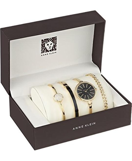 Anne Klein Women's Gold-Tone Watch Set 32mm