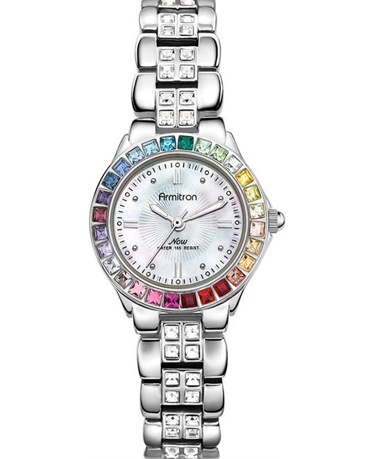 Armitron Women's Multi Silver Bracelet Watch 26mm