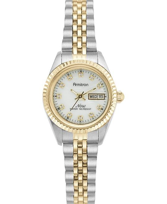 Armitron Women's NOW Crystal Accented Watch 24.3mm