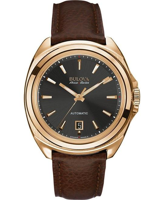 Bulova AccuSwiss Telc Men's Sapphire Watch 42mm