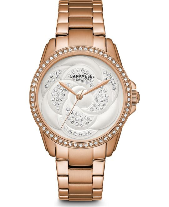 Bulova Caravelle Women's  Stainless Steel Casual Watch 36mm
