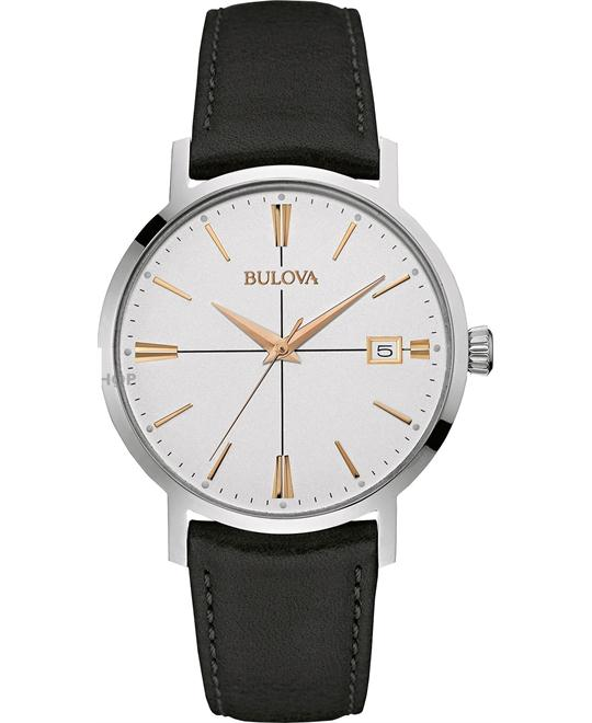 Bulova Dress Collection Gold Men's 40mm
