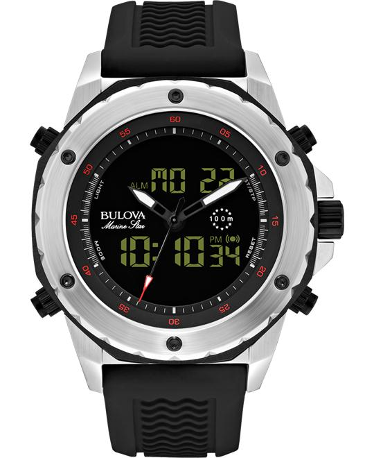 Bulova Marine Men's Digital Watch 45.6mm