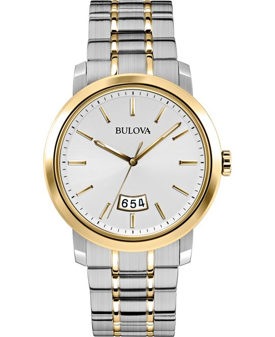Bulova Men's Analog Display Japanese Watch, 40mm
