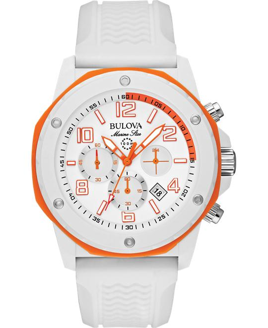 Bulova Men's Analog Display Japanese Watch 44mm