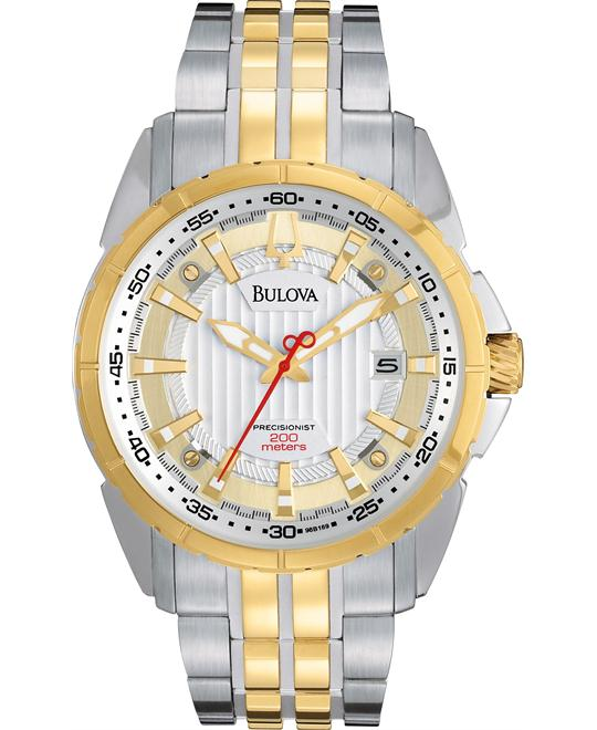 Bulova Men's CAMPTON Bracelet Watch 46mm