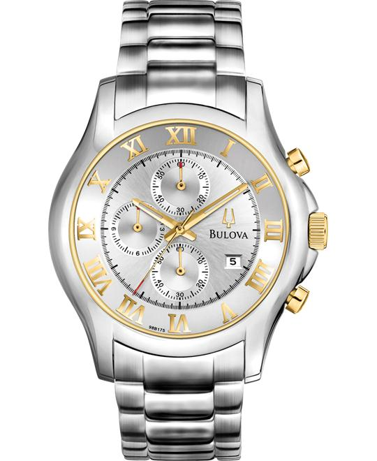 Bulova Men's Chronograph Watch, 42mm