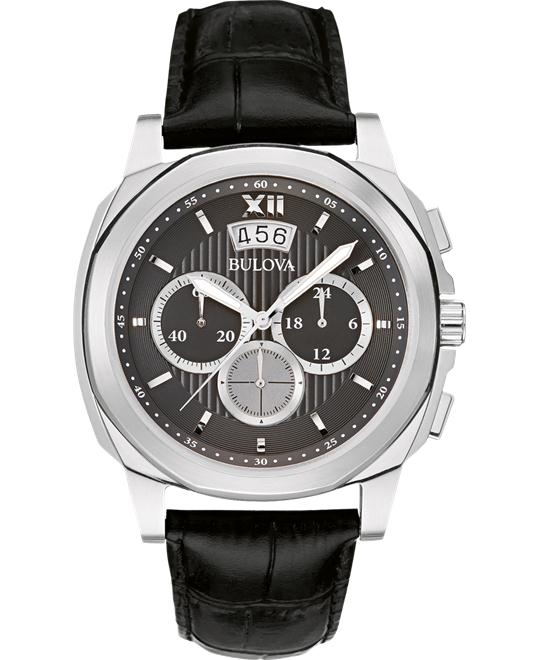 Bulova Classic CHRONOGRAPH Japanese Watch 43mm
