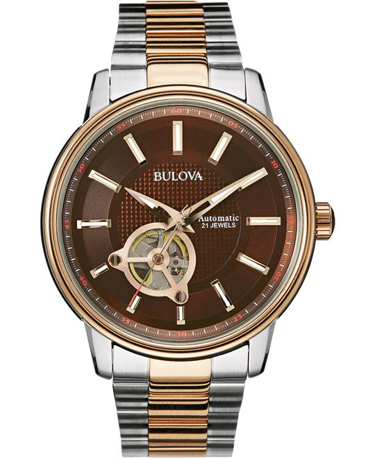 Bulova Men's Display Japanese Watch, 45mm