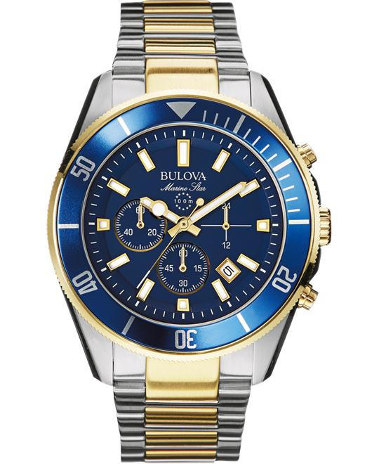 Bulova Marine Star Japanese Men's Watch 43mm