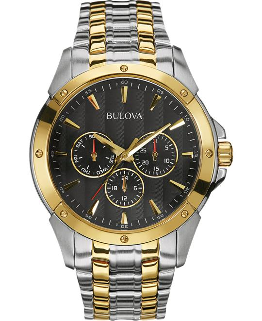 Bulova Sport Analog Display Men's Watch 43mm