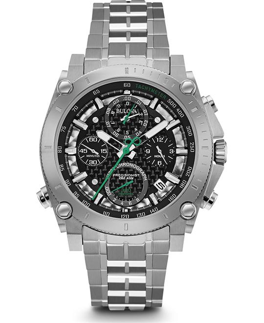 Bulova Precisionist 140th Anniversary Chronograph Watch 44mm