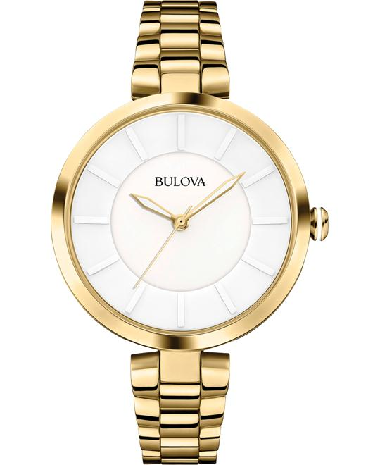 Bulova Women's Analog Display Japanese Watch 38mm