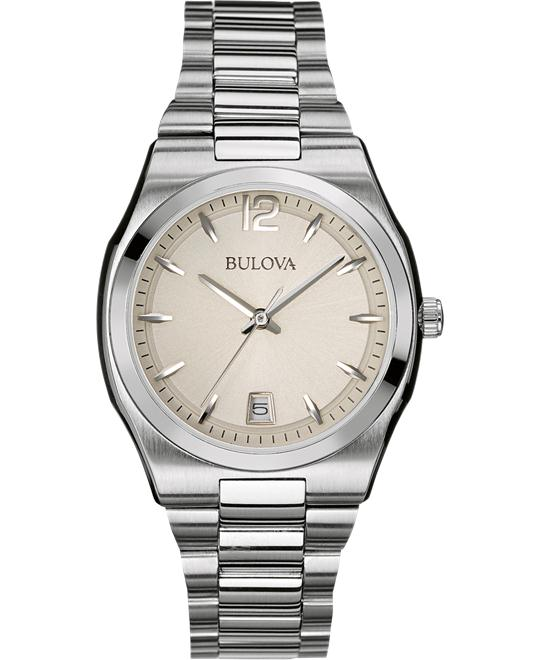 Bulova Women's Classic Analog Display Japanese Watch 34mm