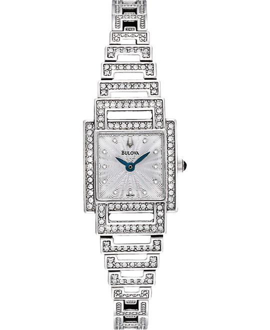 Bulova Women's Crystal Classic Watch, 20mm