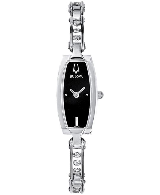Bulova Women's Crystal Watch, 15mm
