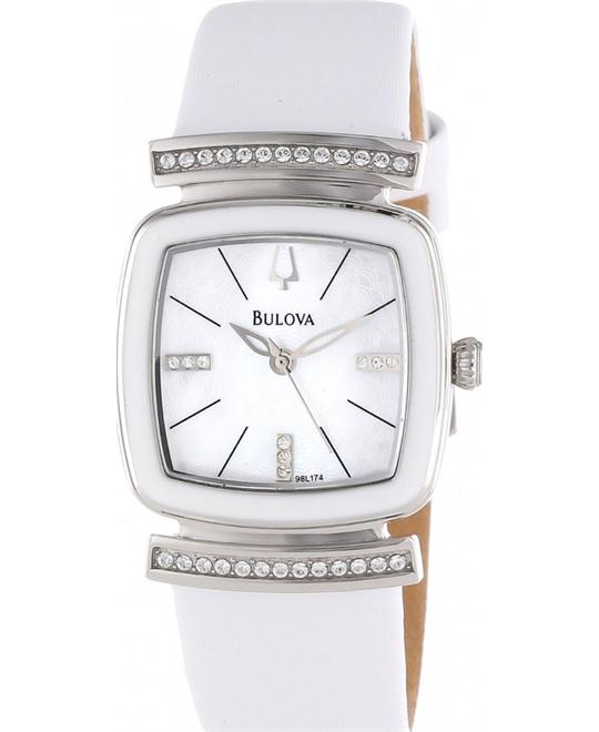 Bulova Women's Crystal Watch 28mm