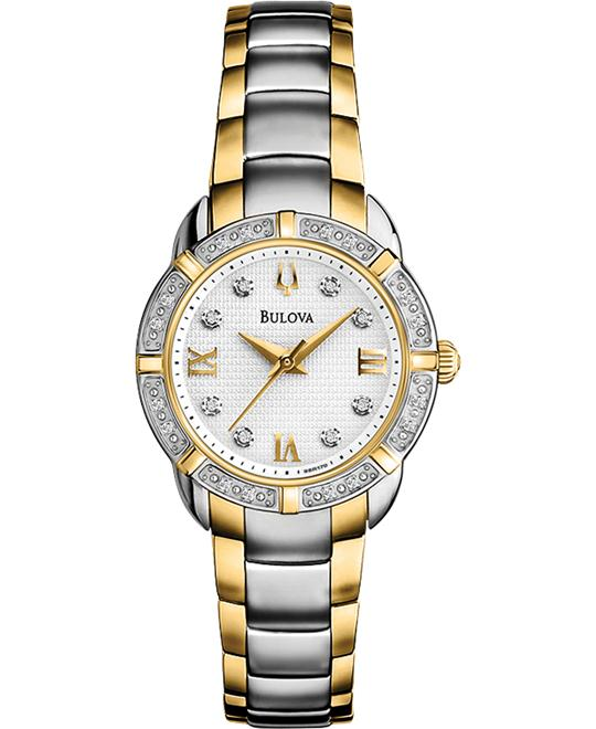 Bulova Ladies Maribor Diamonds Watch 28mm