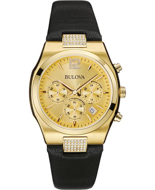Bulova Women's Display Japanese Watch 34mm