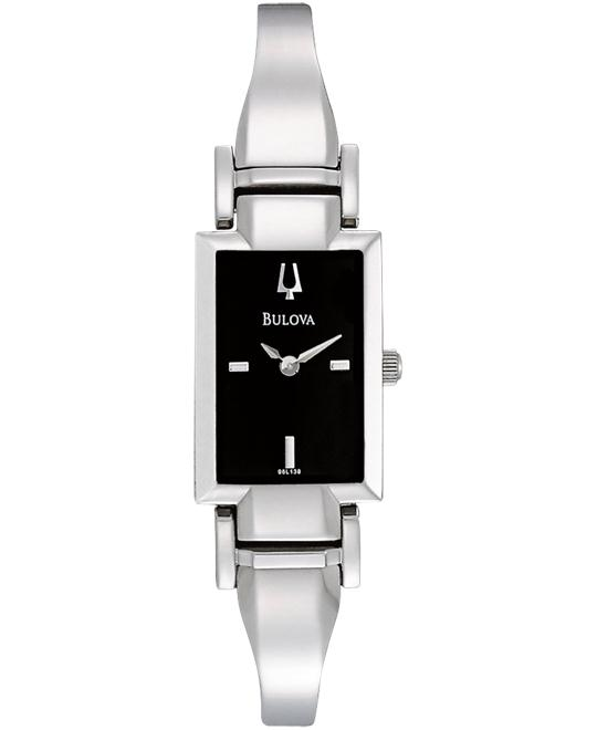 Bulova Women's Stainless Bangle Watch 20mm