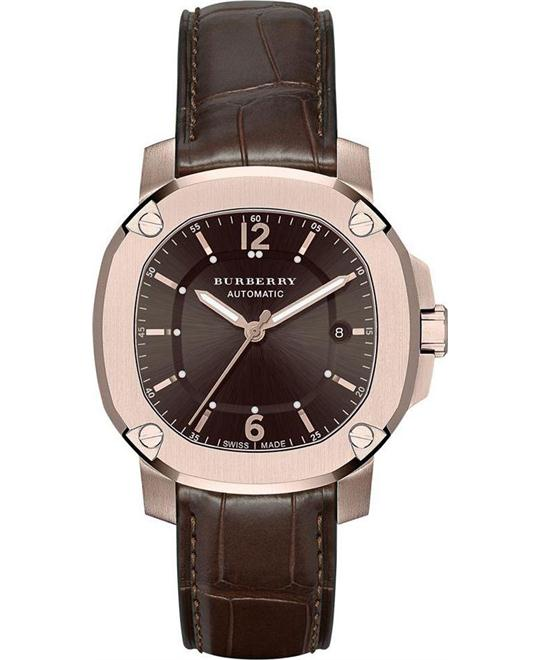 Burberry The Britain Brown Automatic Men's Watch 43mm