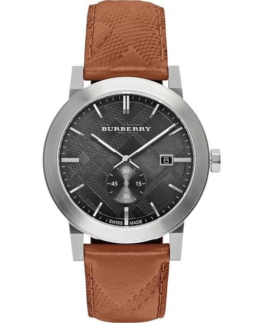 Burberry The City Chronograph Brown Men's Watch 42mm