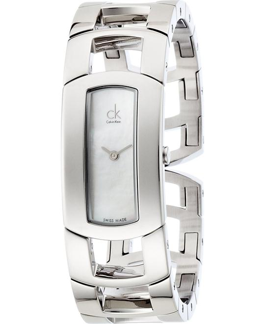 Calvin Klein Dress Half Bangle Ladies Watch 19mm