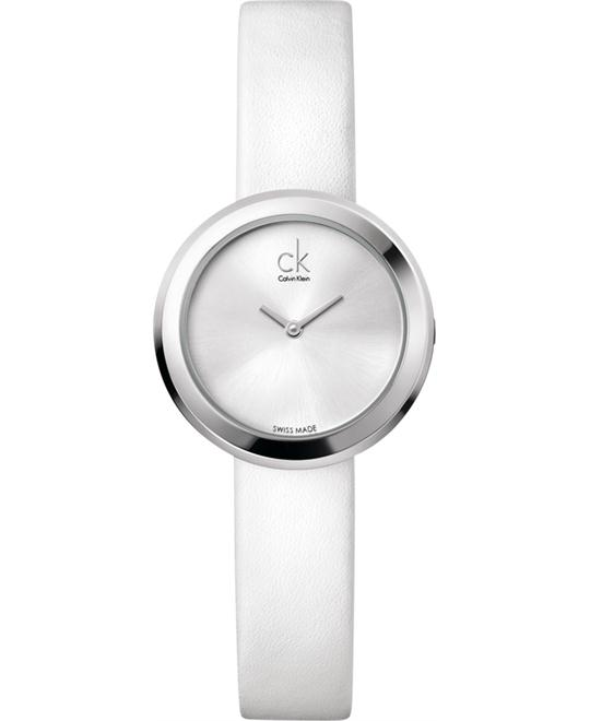 Calvin Klein Firm Leather Ladies Watch 29mm