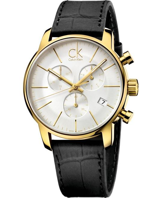 Calvin Klein Men's City Chronograph Dress Watch 43mm
