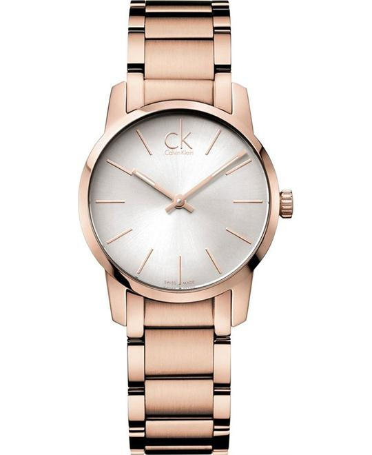 Calvin Klein Women's Rose Gold Watch 31mm