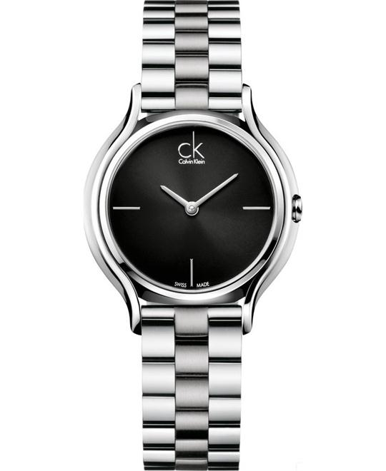 Calvin Klein Skirt Black Women's Watch 33mm
