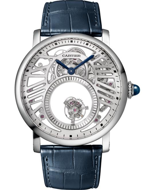 Cartier Rotonde de Cartier Skeleton Mysterious Double Tourbillon