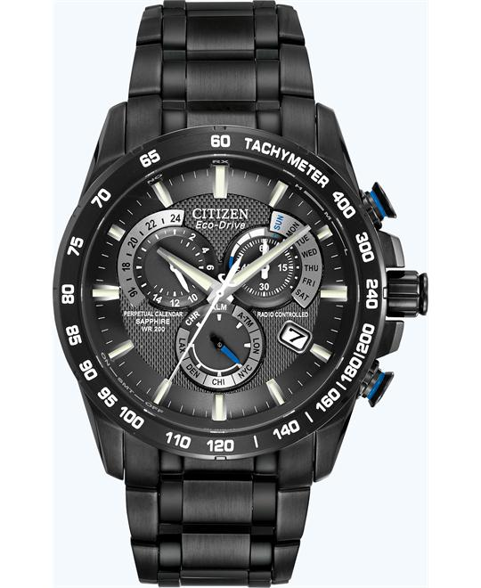 CITIZEN Perpetual Chrono A-T Black Watch 42mm
