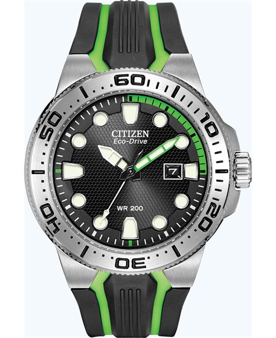 "Citizen Men's  ""Scuba Fin"" Eco-Drive Diver's Watch, 45mm"