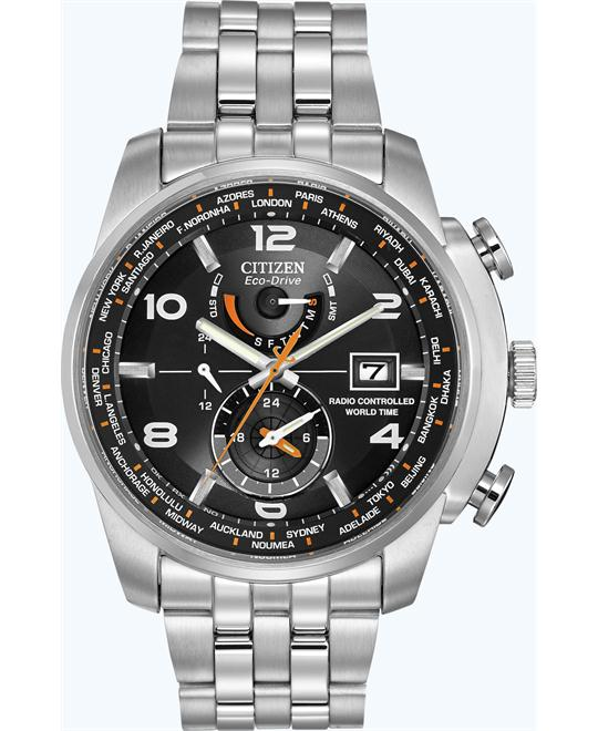 CITIZEN WORLD TIME A-T WATCH 43MM