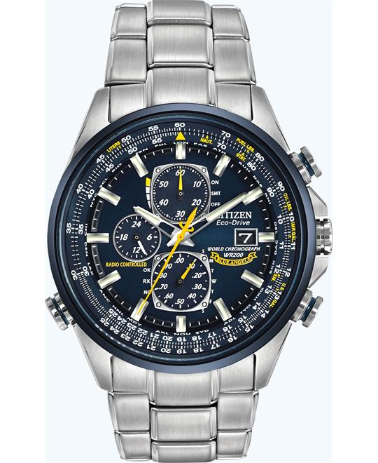 CITIZEN BLUE ANGELS WORLD CHRONOGRAPH A-T 43mm
