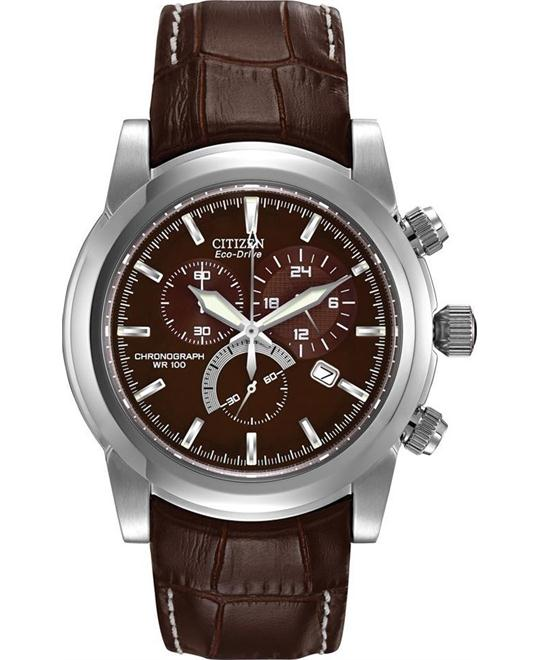 CITIZEN Eco-Drive Chronograph Watch 42mm
